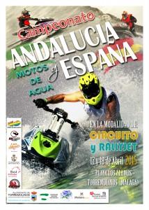 Cartel final campeonato Motos de Agua 2015 1